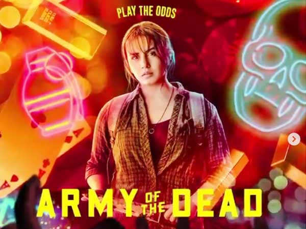 Huma Qureshi gives a glimpse of her character from Army of the Dead