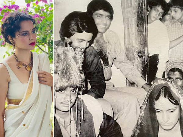 Kangana Ranaut wishes her parents a happy anniversary with a special post