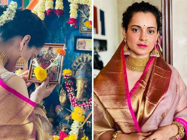 Kangana Ranaut tells her fans a very sweet way of celebrating Navratri