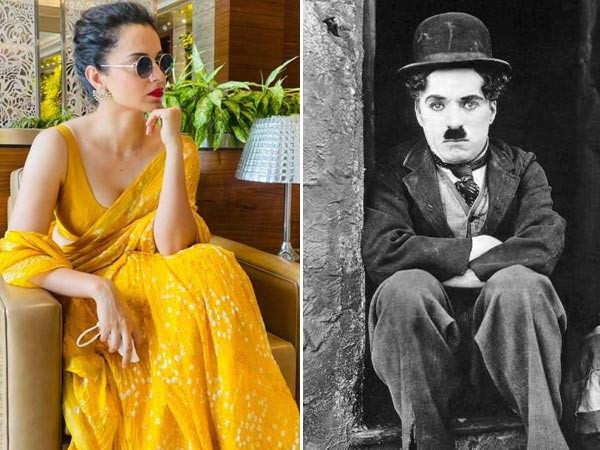 Kangana Ranaut dedicates a post for Charlier Chaplin on his birth anniversary