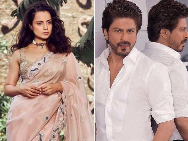 Kangana Ranaut compares her success story with Shah Rukh Khan's