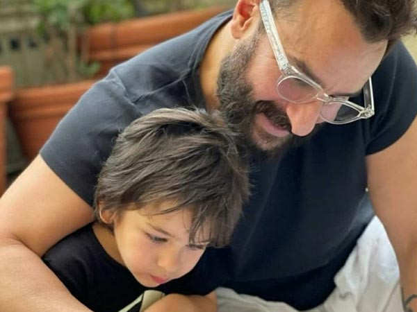 OMG! This picture shared by Kareena of Saif with Taimur and new baby is supremely adorable