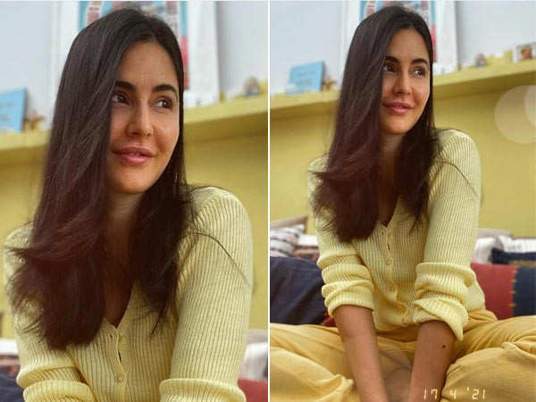 Katrina Kaif's bright sunny click comes with a good news of her being tested negative for COVID-19