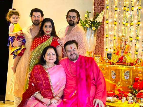 Neil Nitin Mukesh and his family test positive for COVID-19