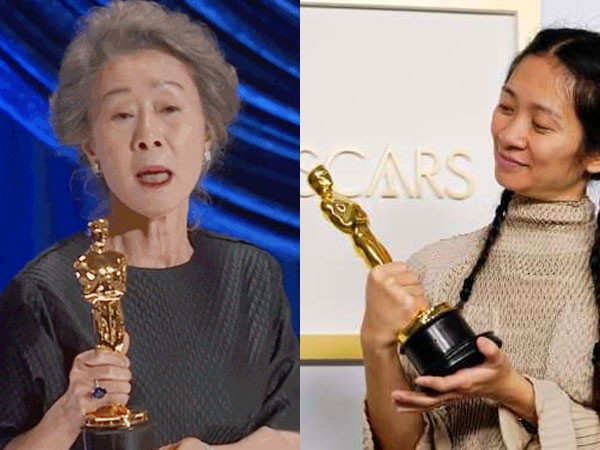Yuh-Jung Youn and Chloe Zhao create history at the Oscars 2021