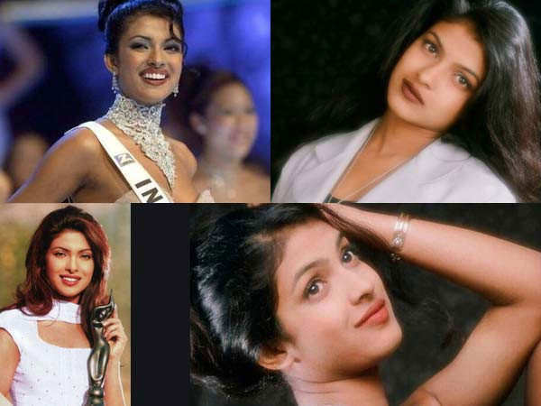 Pictures of Priyanka Chopra Jonas from her early days in the industry
