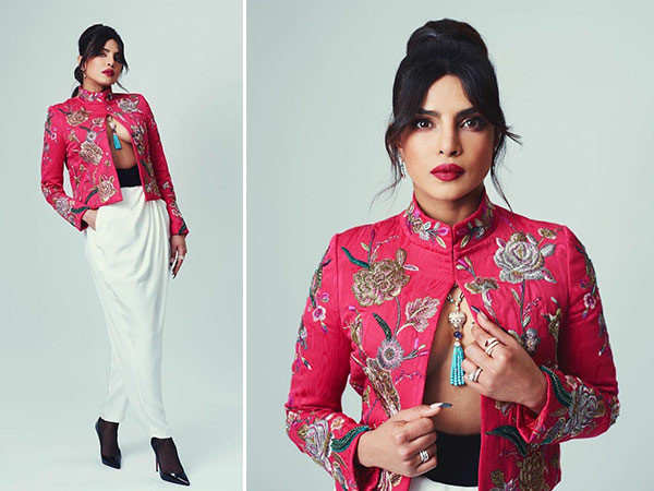 Priyanka Chopra Jonas impresses everyone as the first presenter at the 74th BAFTA Awards
