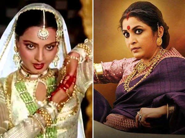 Rekha's dance performance moves Ramya Krishnan to tears