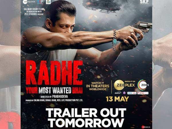 Salman Khan's Radhe all set to release on multiple platforms this Eid