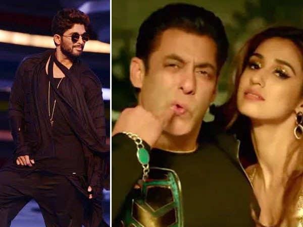 Salman Khan thanks Allu Arjun for the song Seeti Maar