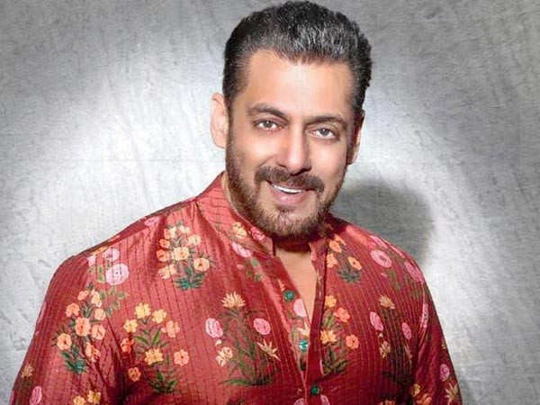 Salman Khan does a food check before sending out packets for frontline workers