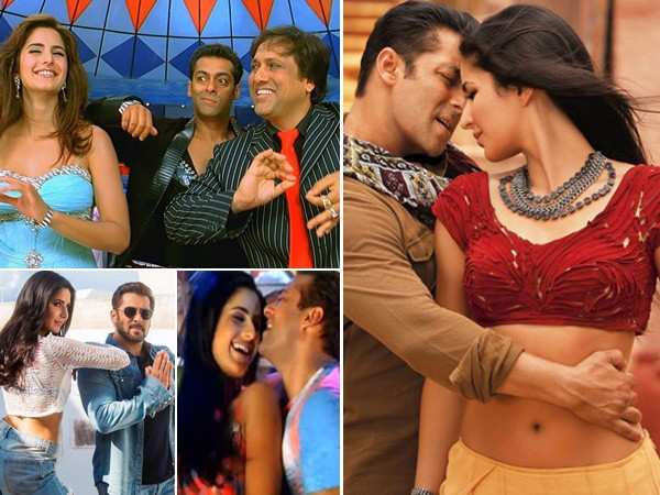 7 songs starring Salman Khan and Katrina Kaif that topped the music charts