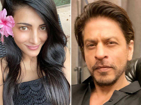 Shruti Haasan calls Shah Rukh Khan her favourite