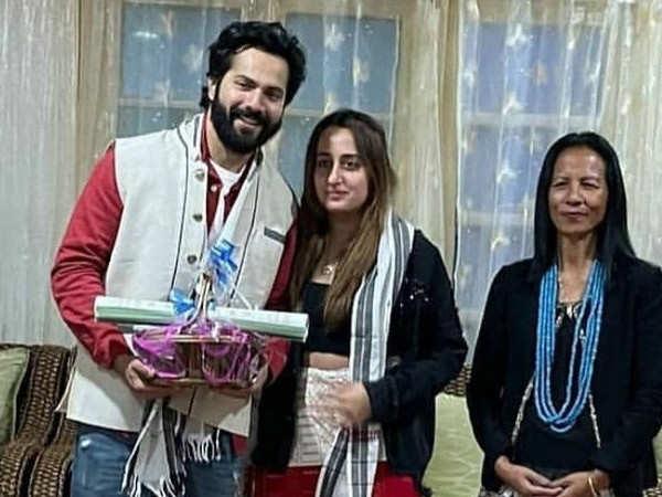 Varun Dhawan and wife Natasha Dalal contribute towards the fire victims of Tirap district