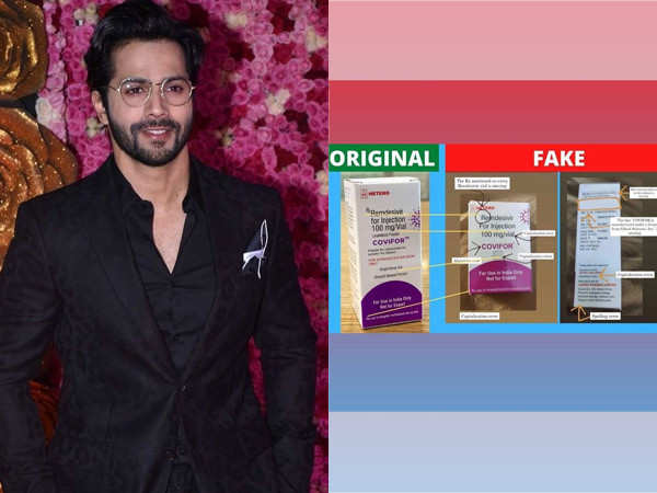 Varun Dhawan Shares Information About How To Be Aware Of Fake Medication