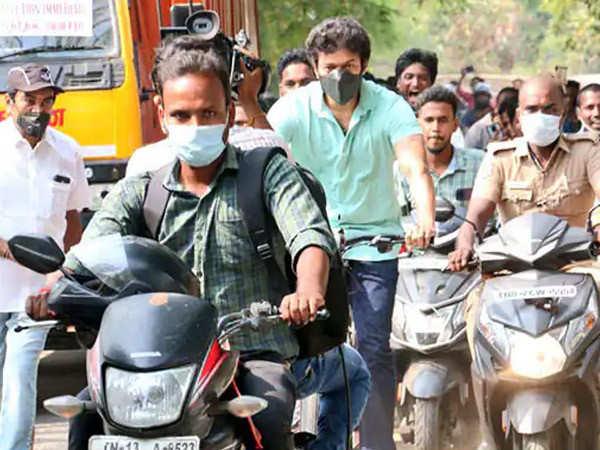 The real reason behind Vijay's bicycle ride