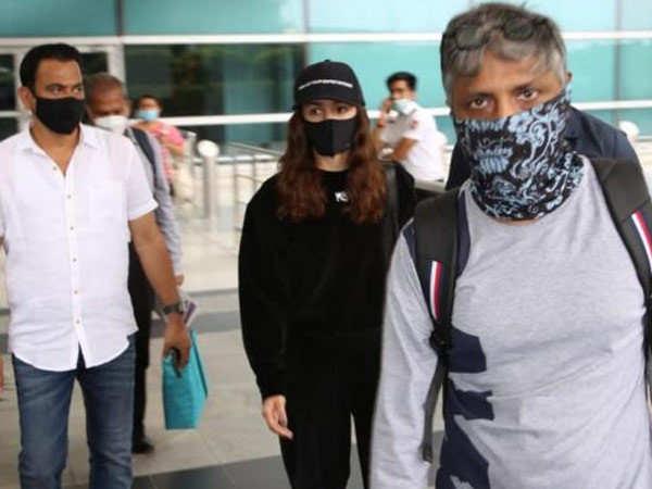 Alia Bhatt snapped in Delhi on her return from Bulgaria