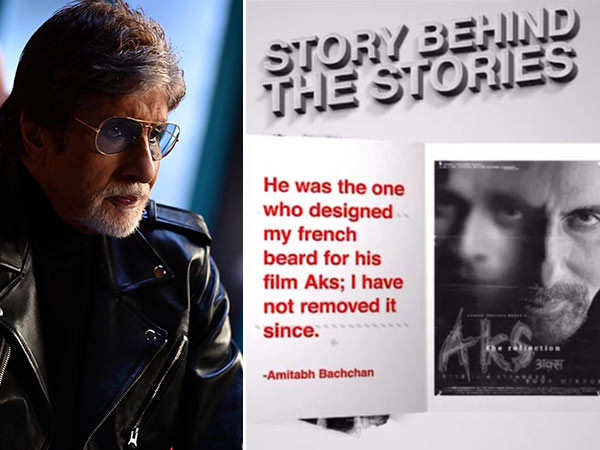 Did You Know Which Film Led Amitabh Bachchan To Keep That French Beard?