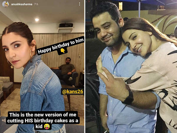 Anushka Sharma Has The Sweetest Birthday Wish For Her Brother
