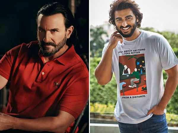 Arjun Kapoor has been a huge fan of Saif Ali Khan
