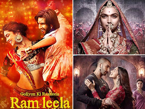 A Roundup Of Deepika Padukone And Ranveer Singh's Movies