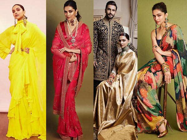 9 Best Saree Looks Of Deepika Padukone