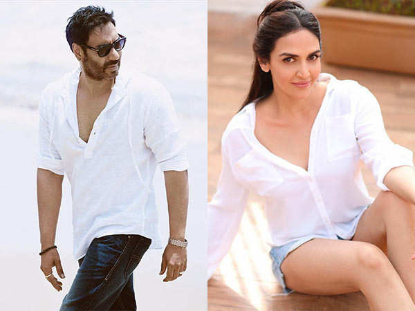 Esha Deol all excited to share the screen with Ajay Devgn again