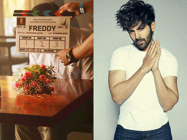 Kartik Aaryan Drops A Picture From The Sets Of Freddy