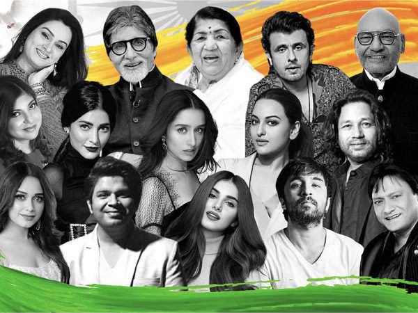 Lata Mangeshkar, Amitabh Bachchan, Shraddha Kapoor, Tara Sutaria come together for Hum Hindustani