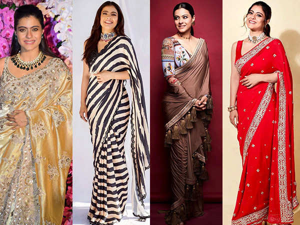 Birthday Special! Kajol And Her Love Affair With Sarees