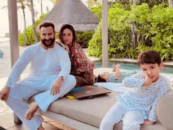 Kareena Kapoor Khan wishes Saif Ali Khan birthday with this adorable family pic