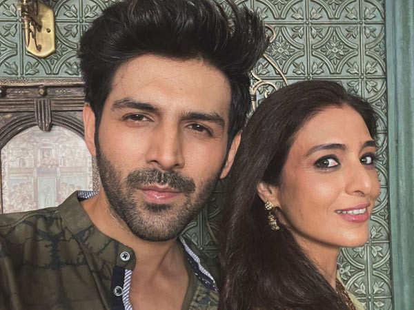 Kartik Aaryan Resumes Shooting For Bhool Bhulaiyaa 2 With Tabu