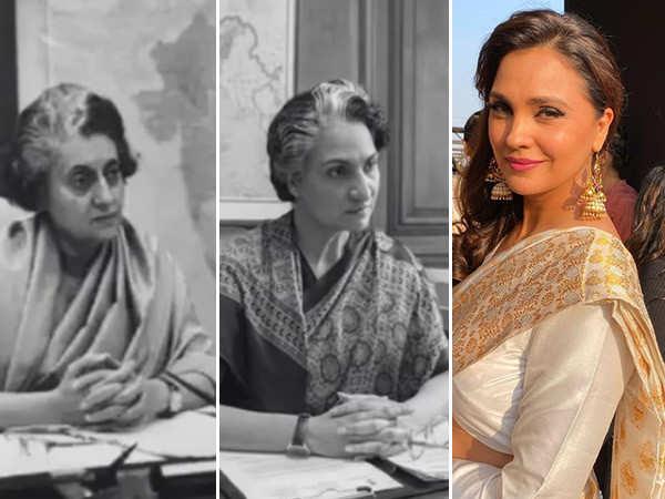 Video: Here's How Lara Dutta Transformed Herself As Prime Minister Indira Gandhi for Bell Bottom
