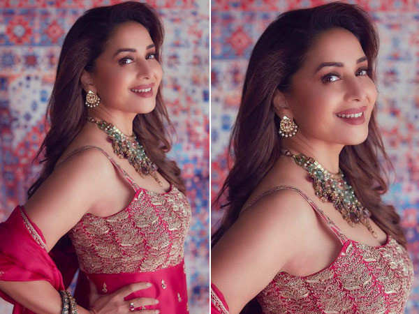 Pictures: Madhuri Dixit looks like a dream in hot pink