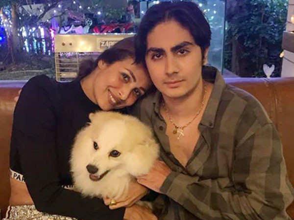 Malaika Arora Bids An Emotional Farewell To Son Arhaan Khan