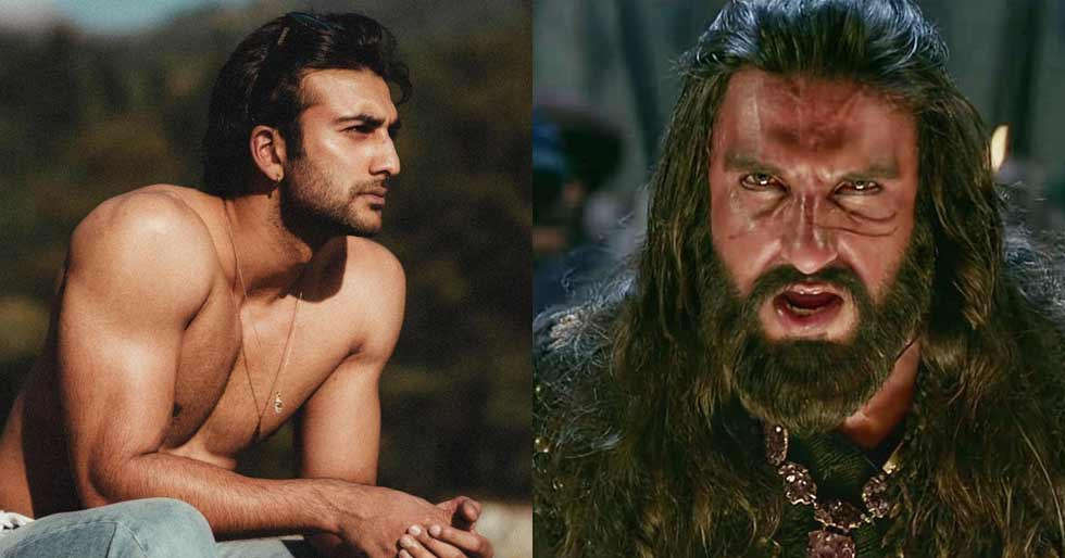 Meezaan Talks About Being Ranveer Singh's Body Double In Padmaavat