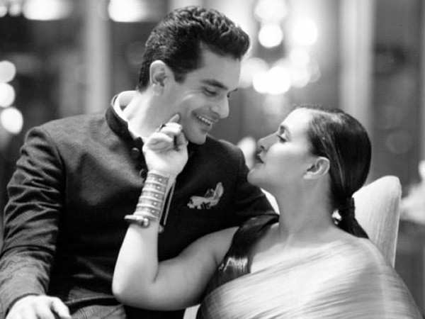 Angad Bedi posts the sweetest birthday message for Neha Dhupia
