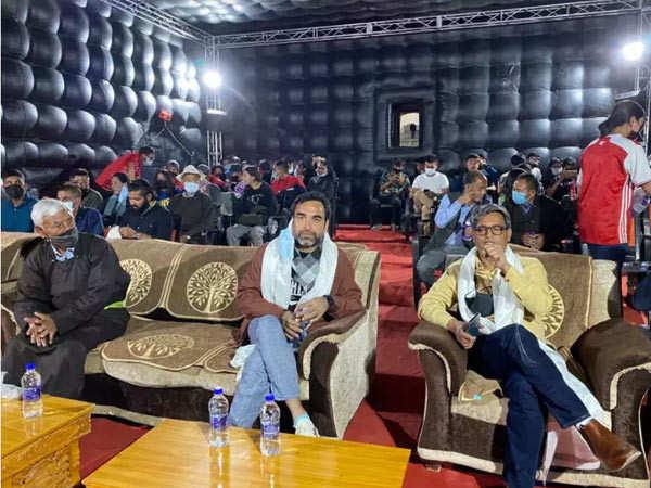Pankaj Tripathi Inaugurates Highest Altitude Cinema Theatre In The World At Leh
