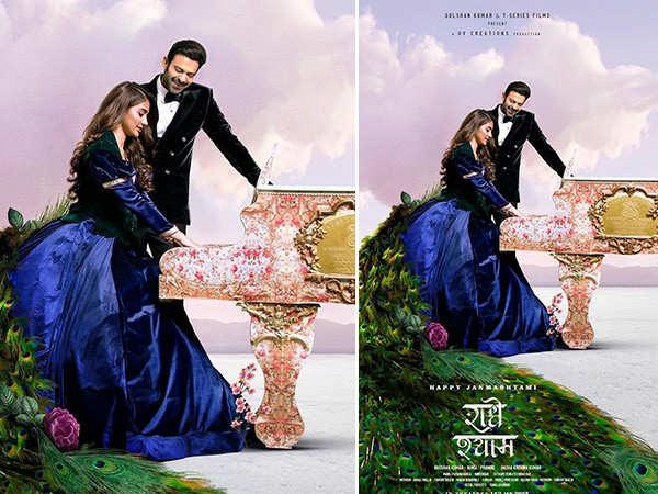Prabhas Shares A Beautiful Poster Of Radhe Shyam To Mark Janmasthami