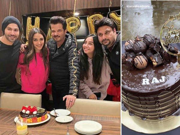 Varun Dhawan, Kiara Advani, Anil Kapoor Celebrate Raj Mehta's Birthday