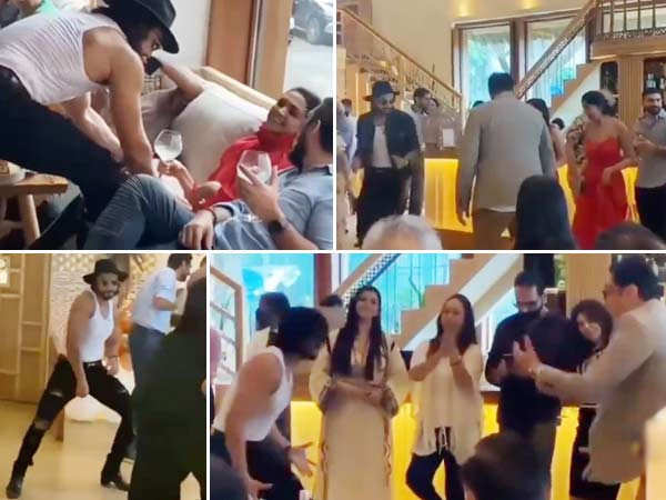 These Videos Of Ranveer Singh Prove He Was The Life Of His Mother's Birthday Party