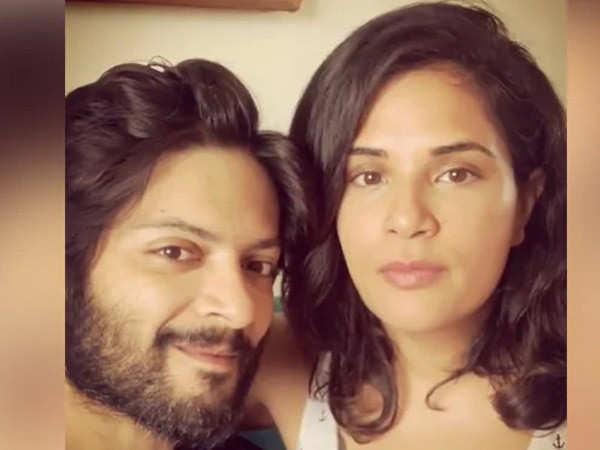 Richa Chadha has an epic reply for a girl who has a crush on Ali Fazal