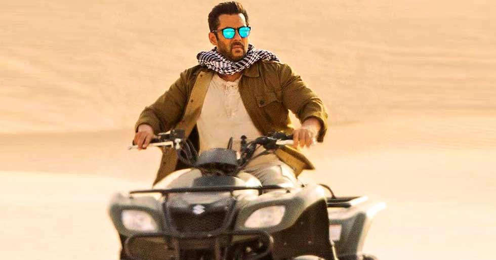 Salman Khan looks unrecognisable in this leaked picture from Tiger 3