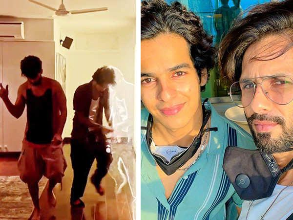 Shahid Kapoor And Ishaan Khatter's Dance Reel Is Mindblowing