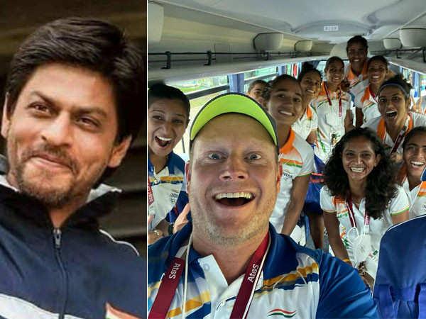 Indian Women's Hockey Coach Sjoerd Marijne Calls Shah Rukh Khan