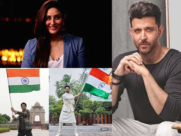Stars post heartwarming wishes on India's 75th Independence Day
