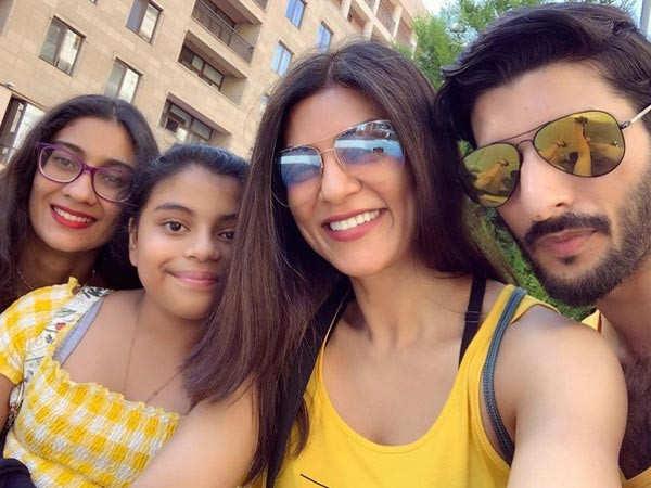 Here's how Sushmita Sen wished her daughter Alisah on her birthday