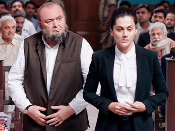 3 Years of Mulk: Taapsee Pannu Remembers Late Rishi Kapoor With An Emotional Post