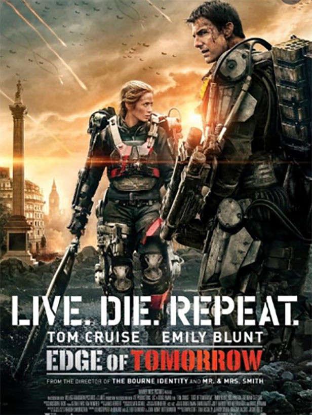Time Travel Movie Edge of Tomorrow