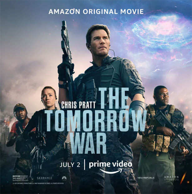 Time Travel Movie The Tomorrow War